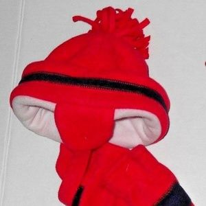 Other - Vintage hat and gloves/mittens set